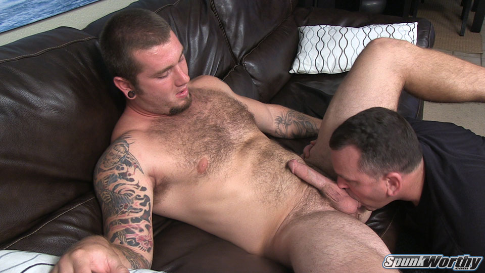 Pity, that hairy gay blowjob